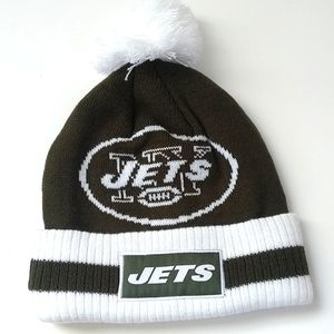 New York Jets NFL Football Knit Hat Touque NWOT